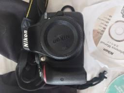 Câmera D3500 + lentes