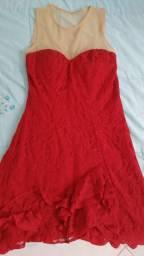 Vestidos de festa azul tiffany e vermelho
