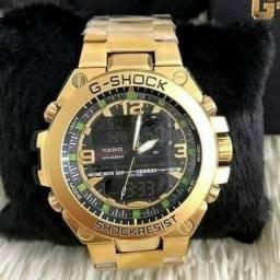Relógio Gshock shockresist Dourado