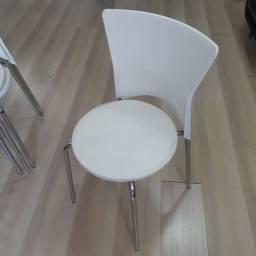 Cadeiras Escritório Design Brancas