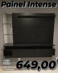 Painel para tv preto painel para tv preto
