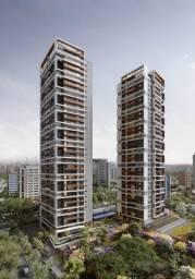 Apartamento no Brooklin Paulista, com 3 quartos, sendo 3 suítes e área útil de 132 m²