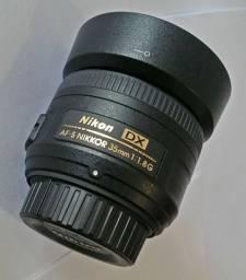 Torro lente 35mm  1.8 NIKON