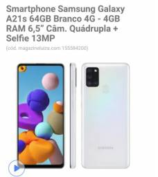 Samsung Galaxy novo na caixa