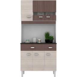 Cozinha Compacta Manu 6 Portas 2 Gavetas Poquema