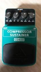 Pedal behringer Compressor cs400