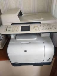 Impressora Multifuncional HP Laserjet colorida com tonner CM1312nfi