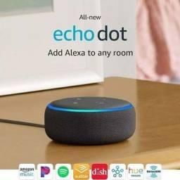 Alexa echo dor - caixinha de som inteligente!