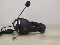 Fone de Ouvido knup KP-320 Para Computador Com Microfone