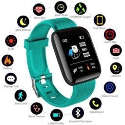 Relógio Inteligente SmartWatch D13 Monitor Cardíaco Monitor Sono