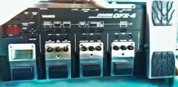02 Pedaleiras GFX-4 Zoom e Pedaleira V-amp (chão) Ler descrição!