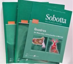 Sobotta - Atlas de Anatomia Volume 1 e 2 + Livrinho de quadros 22ª Edição