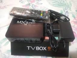 Tv Box 2020 última geração 8gb RAM E 64gb ROM