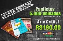 Panfletos, Cartão de Visitas, Banners, Adesivos.