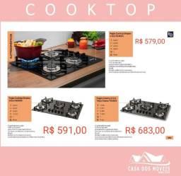 Fogão cooktop 579,00