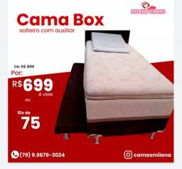Cama Box box / Cama Box com Auxiliar Luxo