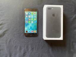 IPhone 7 plus 32gb + Acessórios (Redmi Airdots + Cabo Baseus)