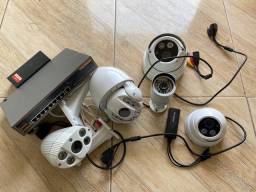 Kit câmeras de segurança