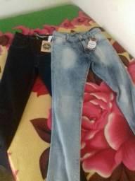 duas calças femininas promoção