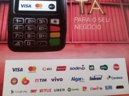 MAQUININHA DE CARTÃO COMPLETA PARA SEU NEGÓCIO