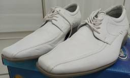 Sapato Social Masculino MILANO (39/40) Em couro Branco