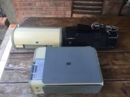 3 impressoras HP