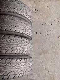 4 pneus 225/70 R16 Dunlop (1.000$ até 10x sem juros no cartão)