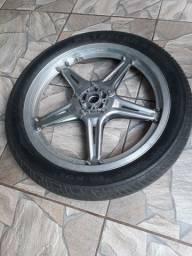 roda c pneu p CB ou triciclo.