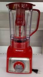 Liquidificador mondial vermelho