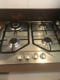 Semi Novo - Electrolux Cooktop 4 bocas cor Inox a Gás Electrolux (GT60X)