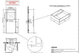 Porta Blindada para uso comercial - Casas Lotéricas, Casas de Câmbio, etc