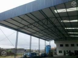 Barracão Industrial, Estrutura Metálica, Construtora de Barracão