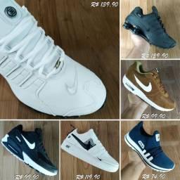 Tênis Adidas Vans e Nike parcelamos em até 6x fazemos entrega
