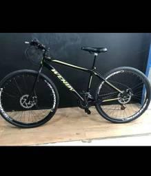 Bicicleta aço carbono