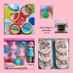 Brinquedos e atividades infantis