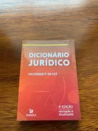 Livro - Dicionário Juridico