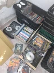 Coleção CDs mp3 DVDs