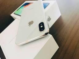 iPhone X 64Gb Silver Anatel Completo Estado Novo Aparelho Pra Pessoas Exigentes Ler Descr-
