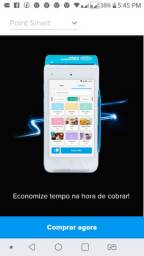 Maquininha Point Smart Mercado Pago - Imprime comprovante - Mooca