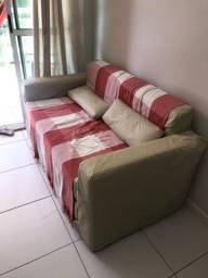 Sofá cama mais Cama box