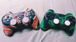 PS3 Slim - Dois Controles Originais