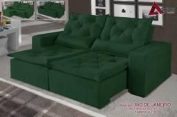 Qualidade, entrega rápida e preço baixo! Sofá Retrátil e reclinável Solare -4415