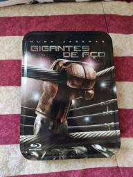 Blu-ray Gigantes de Aço (com embalagem em lata)