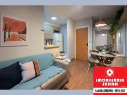 SAM [021] Vista Jardim - 53m² - 3 quartos - Entrada em 80X - Lazer completo