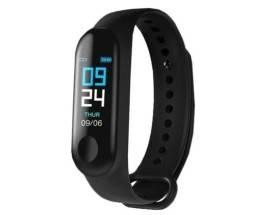Relógio Pulseira Inteligente Monitor Cardíaco E Pressão M3