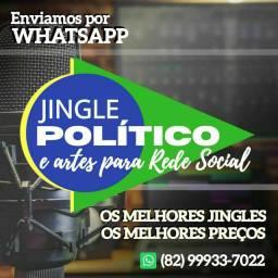 Faça seu Jingle (Múisca Campanha Política) R$199,90