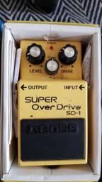 Pedal super OverDrive Boss SD-1