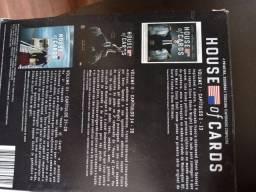 Box 1°, 2°, 3° temporada de house of cards