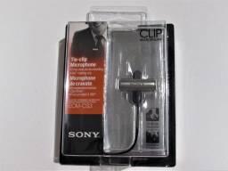 Microfone de Lapela Sony ECM-CS3 Original