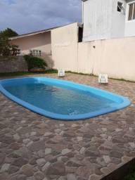 Casa grande com piscina alugo por dia